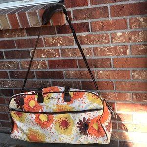 Billabong Floral Print Duffel Bag